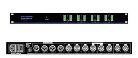 四选一音频输入应用电路图