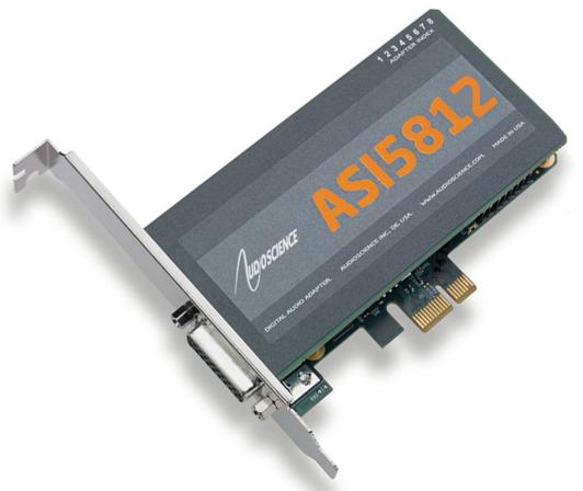 ASI5812 PCIe声卡
