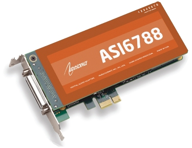 AudioScience ASI6788 PCIe 声