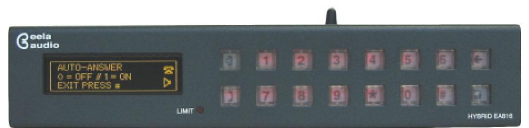 eela audio EA816 GSM 无线电话耦合器