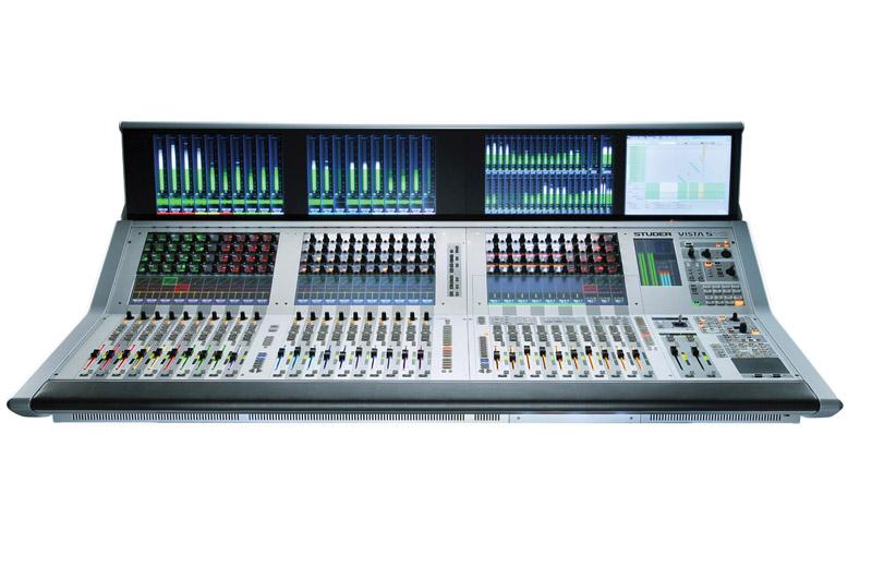 Studer VISTA5SR/VISTA5M3 数字调音台