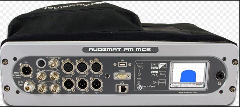 Audemat FM MC5 调试和维护调频设备