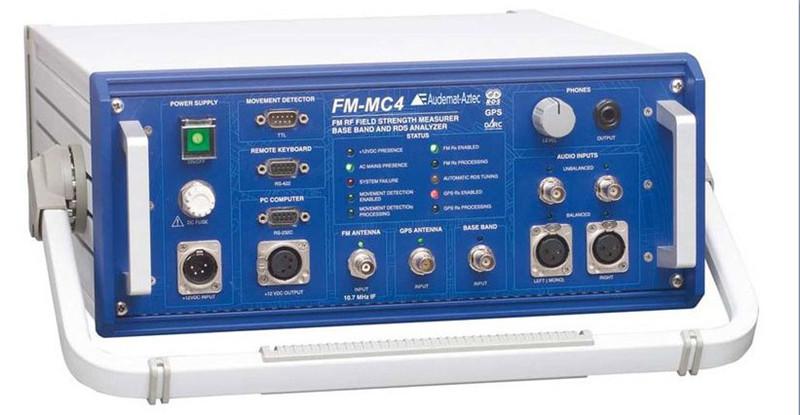 Audemat FM-MC4 场强测试