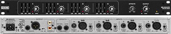 Rane MLM42S 话筒/线路混音器