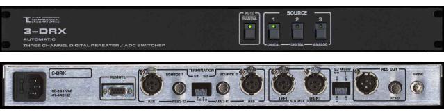 TITUS 3-DRX 三选一自动音频切换器