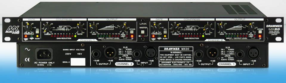 Drawmer MX30-PRO 专业品质动态处理器