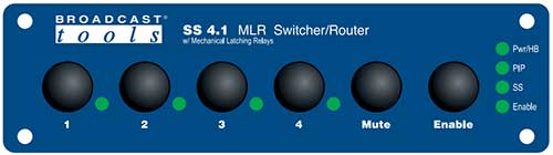 Broadcast Tools  SS 4.1 MLR �C Switcher/Router