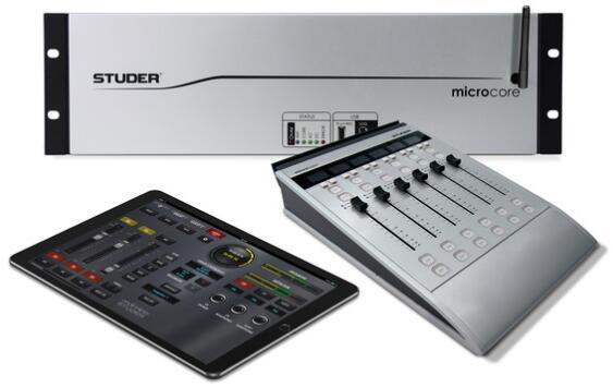 Studer Micro Series 广播和制作数字调音台