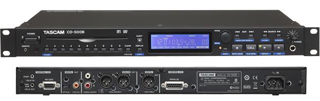 TASCAM CD-500B 专业CD播放机