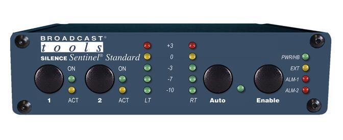 Broadcast Tools Silence Sentinel Standard 模拟音频静音传感器