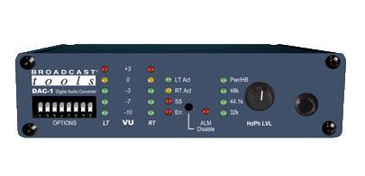 Broadcast Tools DAC-1 数字音频转换器