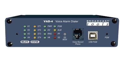 Broadcast Tools VAD-4 语音警报拨号器