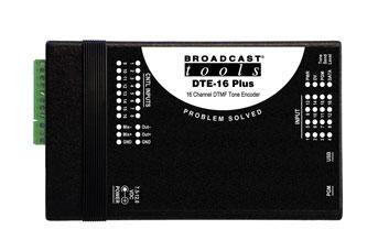 Broadcast Tools DTE-16 Plus 16通道DTMF音频编码器