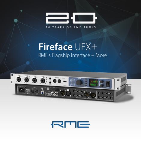 RME Fireface UFX+音频接口/声