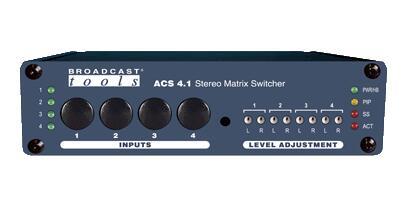 Broadcast Tools ACS 4.1 立体声矩阵切换器