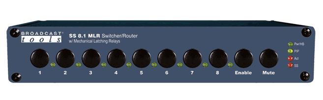 Broadcast Tools SS 8.1 MLR 切换器/路由器