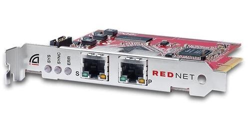 Focusrite 针对 Dante 网络的 RedNet PCIeR 扩展卡