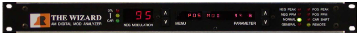美国BELAR AMMA-2 AM调制监视器和数字分析仪
