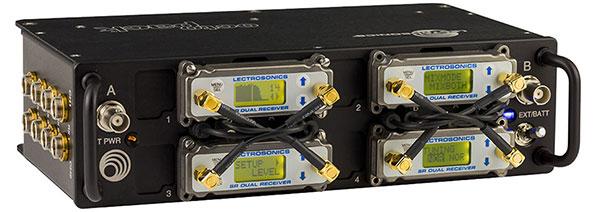 美国LECTROSONICS 莱克SR系列接收器的Octopack - m便携式多路耦合器