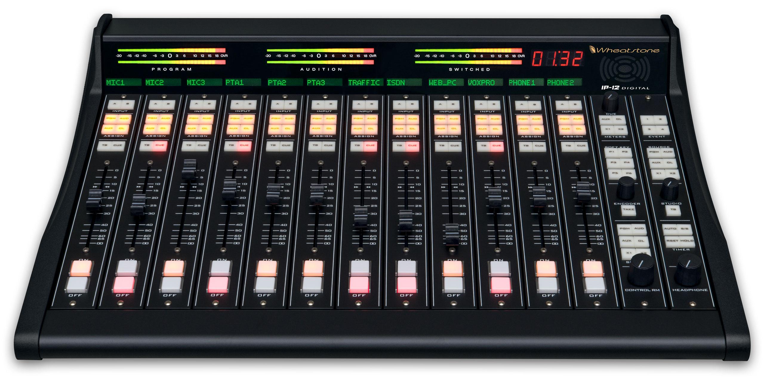 Wheatstone IP-12数字直播调音台